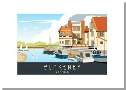 Blakeney Summer, Landscape