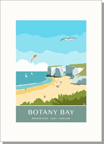 Botany Bay Isle of Thanet Portrait