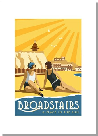 Broadstairs Vintage Blue