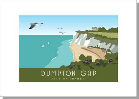 Dumpton Gap Isle of Thanet Landscape