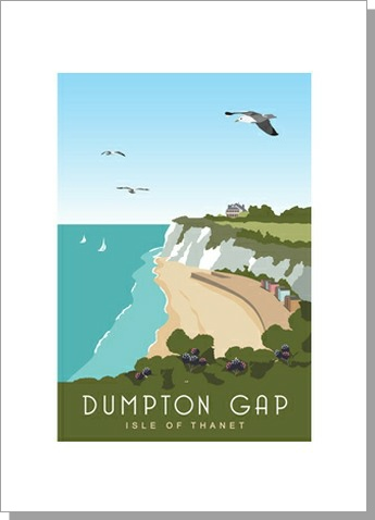 Dumpton Gap Isle of Thanet Portrait