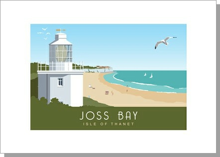 Joss Bay North Foreland Lighthouse Broadstairs Landscape