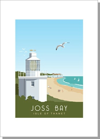 Joss Bay North Foreland Lighthouse Broadstairs Portrait