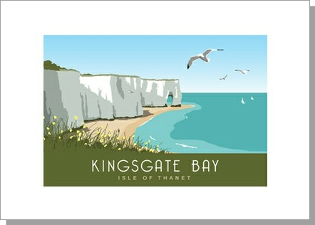 Kingsgate Bay Isle of Thanet Landscape