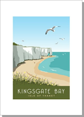 Kingsgate Bay Isle of Thanet Portrait