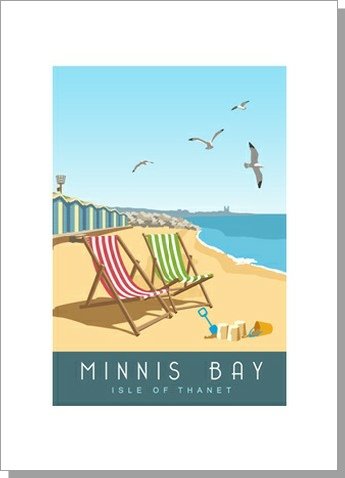 Minnis Bay, Isle of Thanet, Portrait