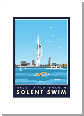 Solent Swim, Ryde to Portsmouth