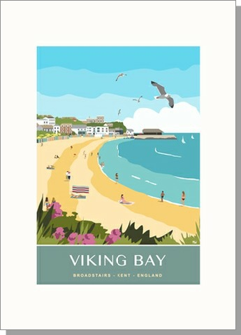 Viking Bay Isle of Thanet Portrait