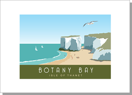 Botany Bay Isle of Thanet Landscape