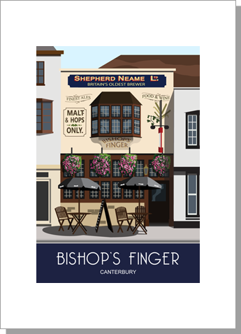 Bishop's Finger Public House Canterbury