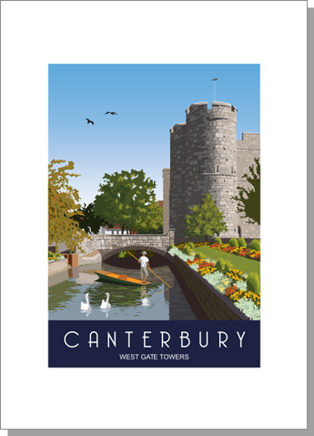 Canterbury West Gate Towers
