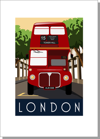 London Bus, Day