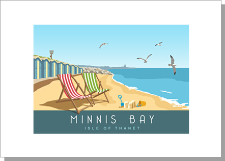 Minnis Bay, Isle of Thanet, Landscape