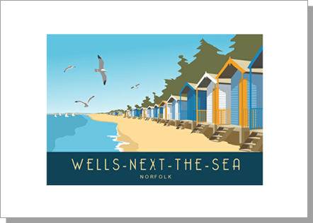 Wells-next-the-Sea Beach Huts, Norfolk