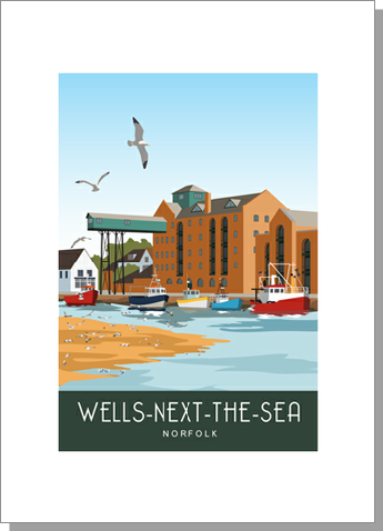 Wells-next-the-Sea, Quayside, Norfolk